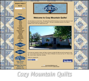 Tobacco Root Solutions - Cozy Mountain Quilts