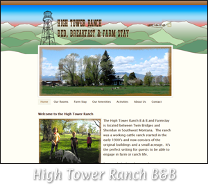 Tobacco Root Solutions - High Tower Ranch Bed & Breakfast