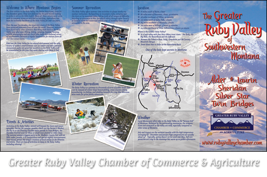 Greater Ruby Valley Chamber of Commerce Brochure