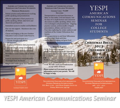 YESPI American Communications Seminar