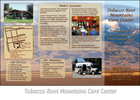 Tobacco Root Mountains Care Center Brochure
