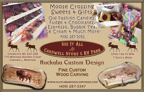 Huckaba Custom Design & Moose Crossing Sweets