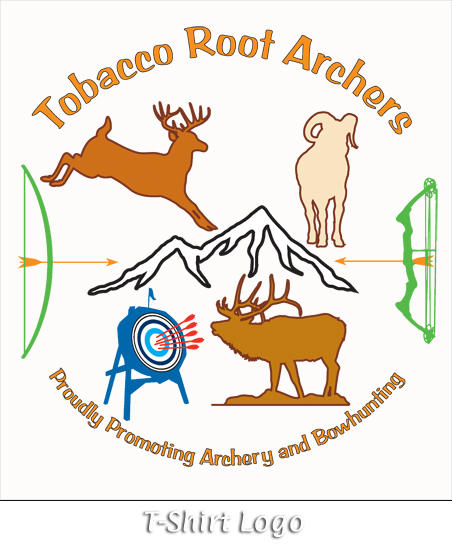 Tobacco Root Archers T-Shirt Logo